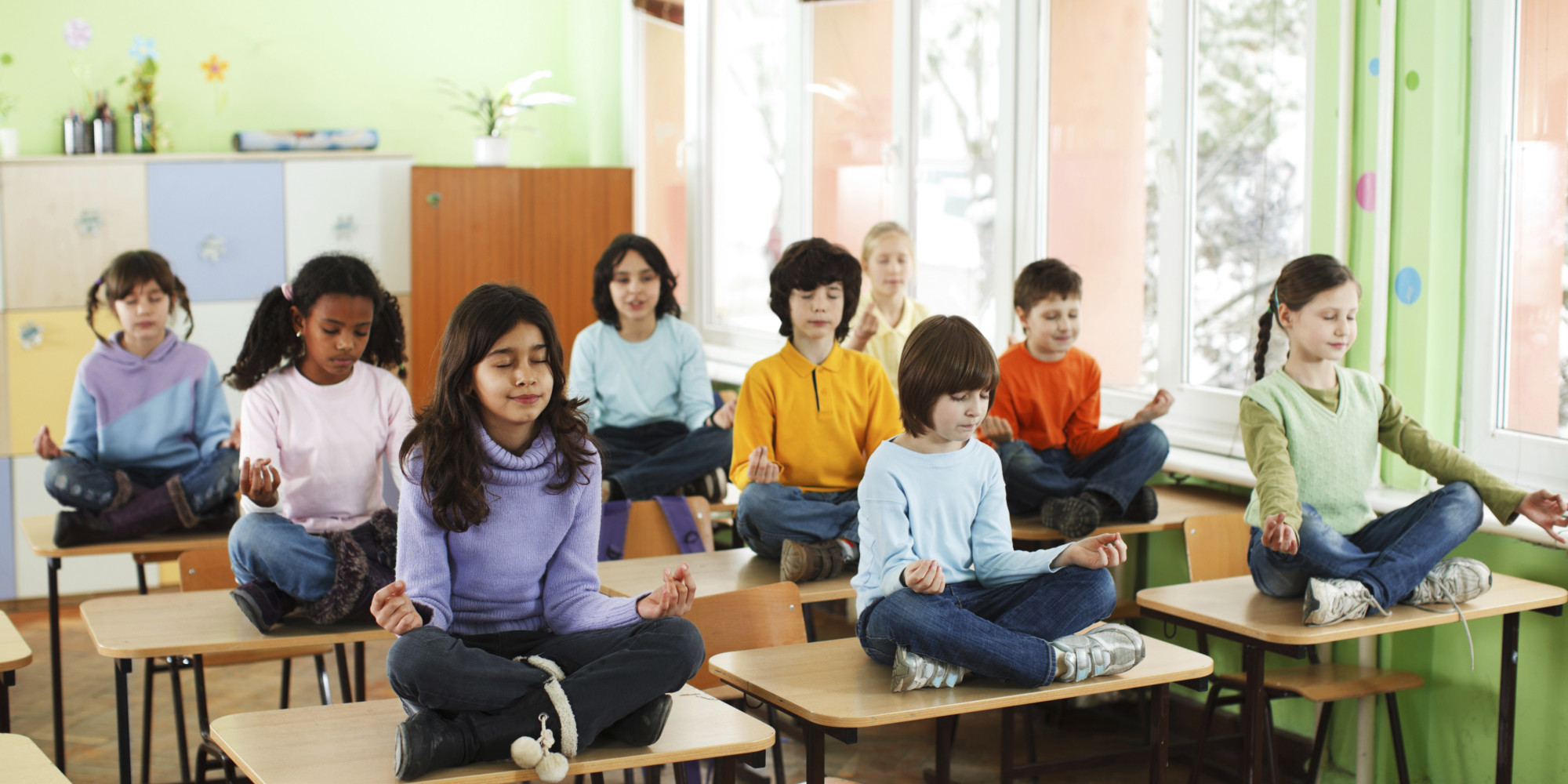4 myths of meditation in the classrom